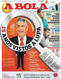 capa Jornal A Bola de 31 outubro 2018