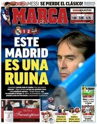 capa Jornal Marca de 21 outubro 2018