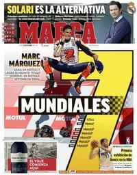 capa Jornal Marca de 22 outubro 2018