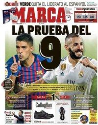 capa Jornal Marca de 27 outubro 2018