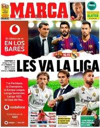 capa Jornal Marca de 28 outubro 2018