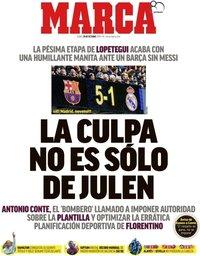 capa Jornal Marca de 29 outubro 2018