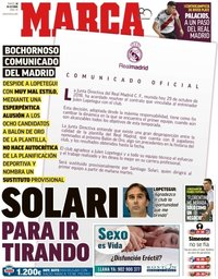 capa Jornal Marca de 30 outubro 2018