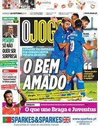 capa Jornal O Jogo de 20 outubro 2018