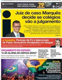 capa Jornal i de 30 outubro 2018
