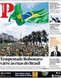 capa Público de 22 outubro 2018