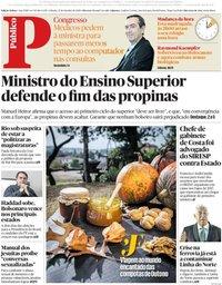 capa Público de 27 outubro 2018