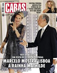 capa Revista Caras de 26 outubro 2018