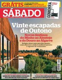 capa Revista Sábado de 25 outubro 2018