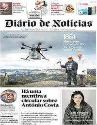 capa Diário de Notícias de 4 novembro 2018