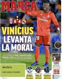 capa Jornal Marca de 1 novembro 2018