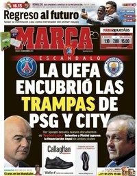 capa Jornal Marca de 3 novembro 2018