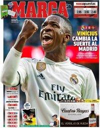capa Jornal Marca de 4 novembro 2018