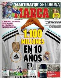 capa Jornal Marca de 5 novembro 2018