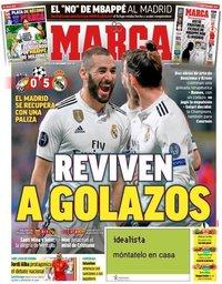 capa Jornal Marca de 8 novembro 2018