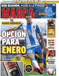 capa Jornal Marca de 9 novembro 2018
