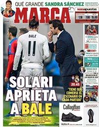 capa Jornal Marca de 11 novembro 2018