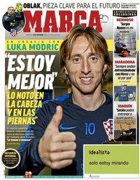 capa Jornal Marca de 14 novembro 2018