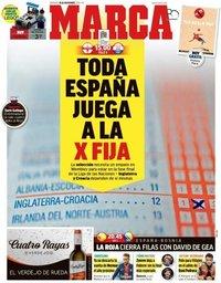 capa Jornal Marca de 18 novembro 2018