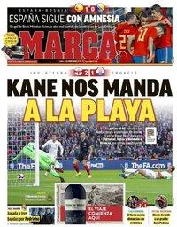 capa Jornal Marca de 19 novembro 2018