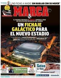 capa Jornal Marca de 20 novembro 2018