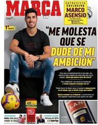 capa Jornal Marca de 21 novembro 2018