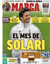 capa Jornal Marca de 23 novembro 2018