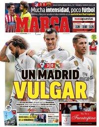 capa Jornal Marca de 25 novembro 2018