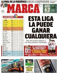 capa Jornal Marca de 26 novembro 2018