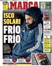 capa Jornal Marca de 29 novembro 2018