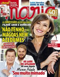 capa Maria de 1 novembro 2018