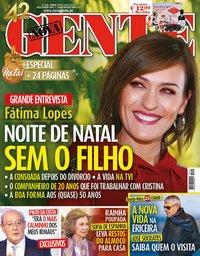 capa Nova Gente de 30 novembro 2018
