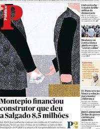 capa Público de 4 novembro 2018