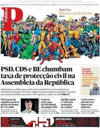 capa Público de 13 novembro 2018