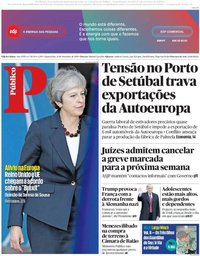 capa Público de 14 novembro 2018