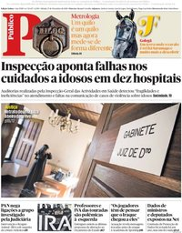 capa Público de 17 novembro 2018