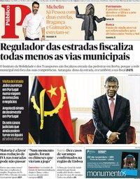 capa Público de 22 novembro 2018
