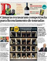 capa Público de 24 novembro 2018