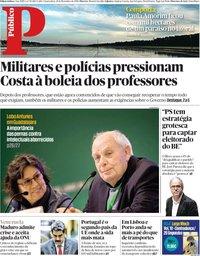 capa Público de 28 novembro 2018