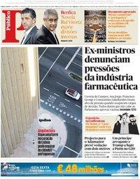 capa Público de 30 novembro 2018