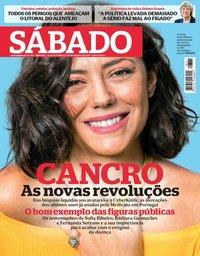 capa Revista Sábado de 2 novembro 2018
