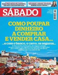 capa Revista Sábado de 8 novembro 2018
