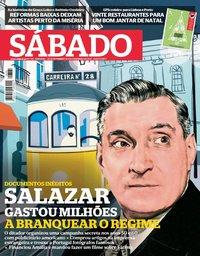 capa Revista Sábado de 29 novembro 2018