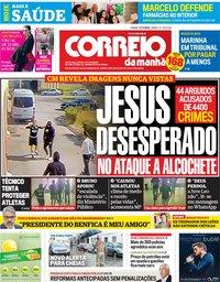capa Correio da Manhã de 17 novembro 2018