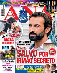 capa Revista Ana de 3 dezembro 2018
