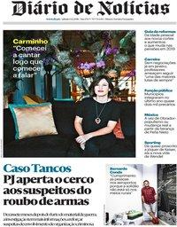 capa Diário de Notícias de 1 dezembro 2018
