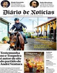 capa Diário de Notícias de 4 dezembro 2018