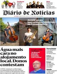 capa Diário de Notícias de 15 dezembro 2018