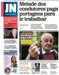 capa Jornal de Notícias de 1 dezembro 2018