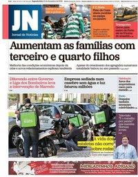capa Jornal de Notícias de 10 dezembro 2018